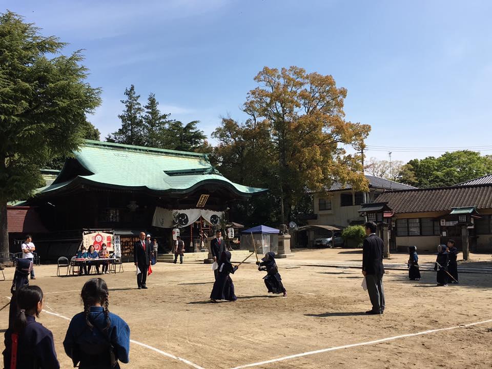 子鍬倉神社剣道大会 2016.4.23-2